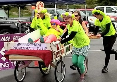 Bed Race is a tremendous success!
